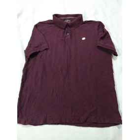 ff51a675c Playera Polo Banana Republic Talla L (usado) Color Vino Moda