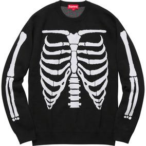 Supreme Bones Sweater - Talla L (negro)