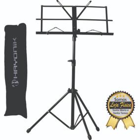 Estante P/ Partitura Pastas Pedestal Suporte Sp100