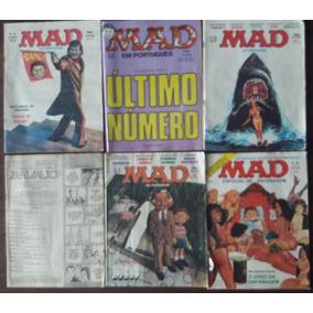 Revista Mad - Lote Com 6 Revistas Antigas E Frete Grátis!