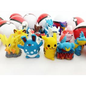 Pokemon Na Pokebola 50 Un P/ Lembrancinhas Brinde Infantil
