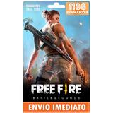 Free Fire 1080 Diamantes +108 Bônus (1188) Recarga P/ Conta
