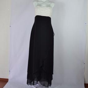 Eva Brazzi Vestido Bicolor 10 Msrp $900