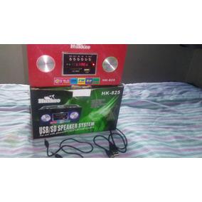 Radio Recargable Reproductor Mp3 Usb Microsd