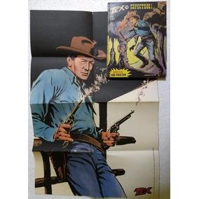 Tex Nº 78! Editora Vecchi Ago 1977! Com Poster Original!