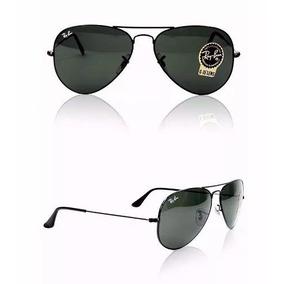 Óculos De Sol Ray Ban Rb 3025 Aviator Tam 55, 58 E 62 - Óculos De ... 90b2c347e6
