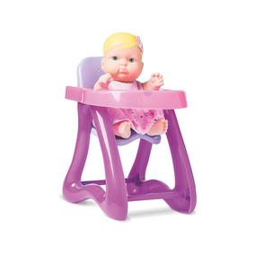 Boneca Nenequinha Cadeirão - Super Toys 323