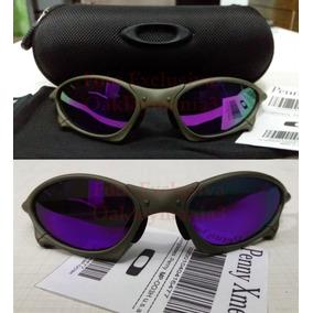 d8e3b9d583cf4 Oculos Penny Xmetal Lente Roxa Violeta Polarizada + Case