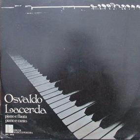 Lp Osvaldo Lacerda Discos Marcus Pereira 9410 Capa Ex Lp Nm