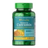 Turmeric Curcuma Bioperine Açafrão 1000 Mg 120 C Frete Grát
