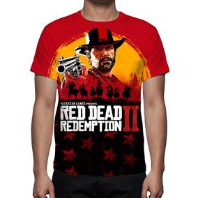Camiseta, Game Red Dead Redemption 2 Mod 02 - Estampa Total
