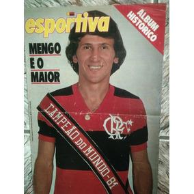 Revista Manchete Esportiva Flamengo Campeão Mundial