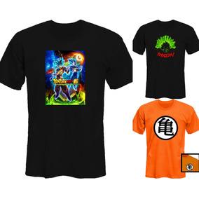 Remeras Dragon Ball Z Super Broly Goku  mr Korneforos 