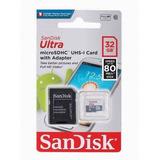 Cartão Micro Sd Classe 10 32gb Sandisk Original Oferta