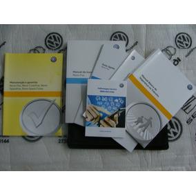 Kit Completo Manual Proprietário Novo Fox - Vw Novo Lacrado