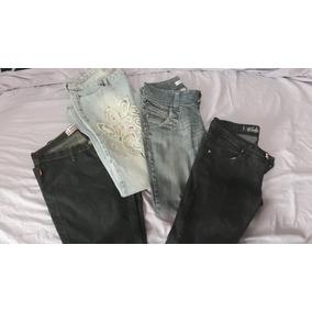 Kit 10 Peças De Calças Jeans Usadas