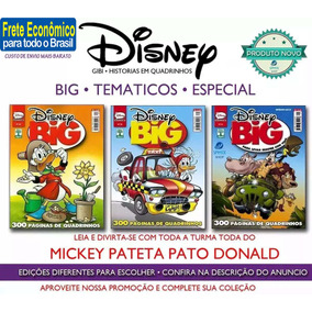 Disney Big Especial Temáticos Mickey Donald