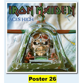 Poster Cartaz Heavy Metal Iron Maiden (60x60 #026