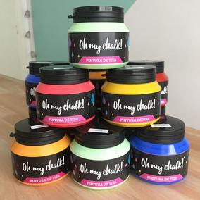 Combo 5 Oh My Chalk! X220 Colores A Elección. Pintura Tiza