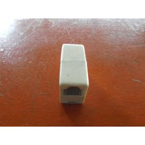 Adaptador Para Conector Rj45 Hembra-hembra Cable De Red