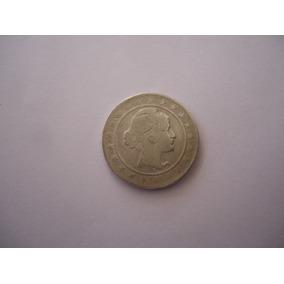 Moeda Prata 2000 Réis 1924 República Estados Unidos Brasil