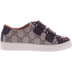 Tenis Gucci Gg Supreme Grip-tape Sneaker * La Segunda Bazar