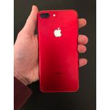 Celular iPhone 7 Plus 128gb Vermelho Seminovo Apple
