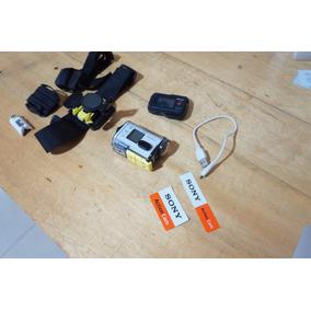 Câmera Esportiva Sony Splashproof Exmor R Wi-fi