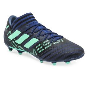 ea0558d8d0214 Botines Nemesis Adidas Messi Azules - Botines para Adultos Azul en ...