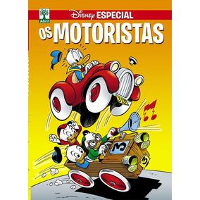 Revista Disney Especial Temática Os Motoristas - Nova Série