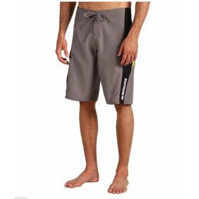 Shorts Quiksilver Hold Down 22 Gris Original