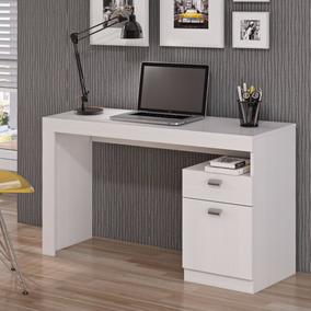 Escrivaninha 1 Porta 1 Gaveta Melissa Permobili Branco Hgwt