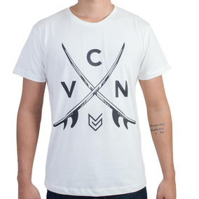 Camiseta Casual Masculina Vicerinne Estampada
