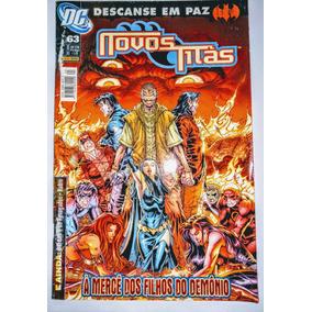 Hq - Novos Titãs Nº 63 - Á Mercê Dos Filhos Do Demônio