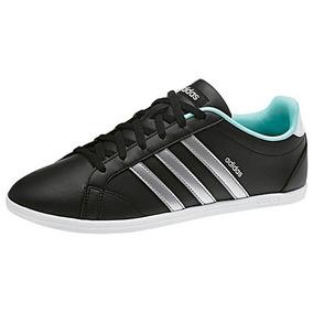 wholesale dealer b655c 29dce Tenis adidas Vs Coneo Qt W Bb9647 Negro-plata Dama Oi