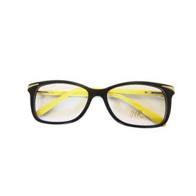 Armação P  Óculos Grau Acetato Preto Swarovski Feminino 2ec96299e2