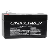 Bateria Unipower Up1213 12v 1.3ah F187