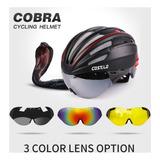 Capacete 3 Lentes Cobra Costelo, Ciclismo Mtb, Bike