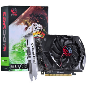 Placa De Video Geforce Nvidia Gt 730 1gb Gddr5 128 Bits