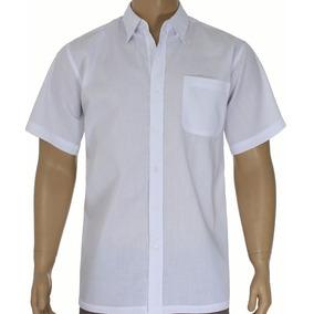 98d059d21 Camisa Social Masculina Branca Tamanho 38 - Camisa Social Manga ...