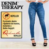 Calça Jeans Feminina Revanche Repelente De Insetos Cod.28372