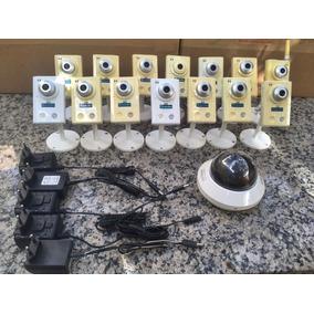 Lote 15 Câmeras Ip Avtech De 1.3 Mp Hd 720p + 5 Fontes