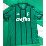 92b030ba90 Camisa De Treino Do Palmeiras Crefisa no Mercado Livre Brasil