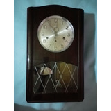 Reloj Antiguo Aleman De Pared