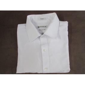 3cf1c0c994 Camisa Masculina Branca - Tam  16 - 32 33 - Marca  Vanheusen
