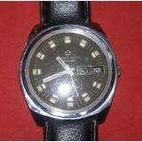 c7463eec947 Antigo Relógio Masculino De Pulso Eternamatic 36000 Sevenday