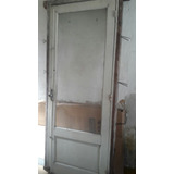 Puerta Interior O Exterior De Pinotea Con Vidrio De 225 X 90