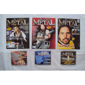 Revista Planet Metal / Metallica, Iron Maiden, Ac Dc, Kiss