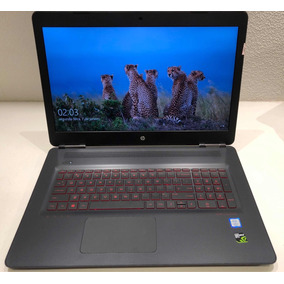 Notebook Hp Omen 17-w252nr   Tela 4k   Ssd 250gb   Gtx1050ti
