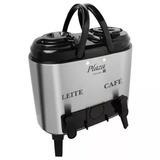 Botijão Térmico Duplo Leite/café